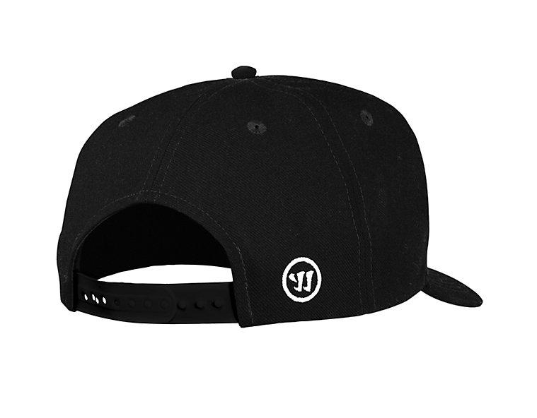 Warrior Hockey Street Snapback Hat, Black image number 2