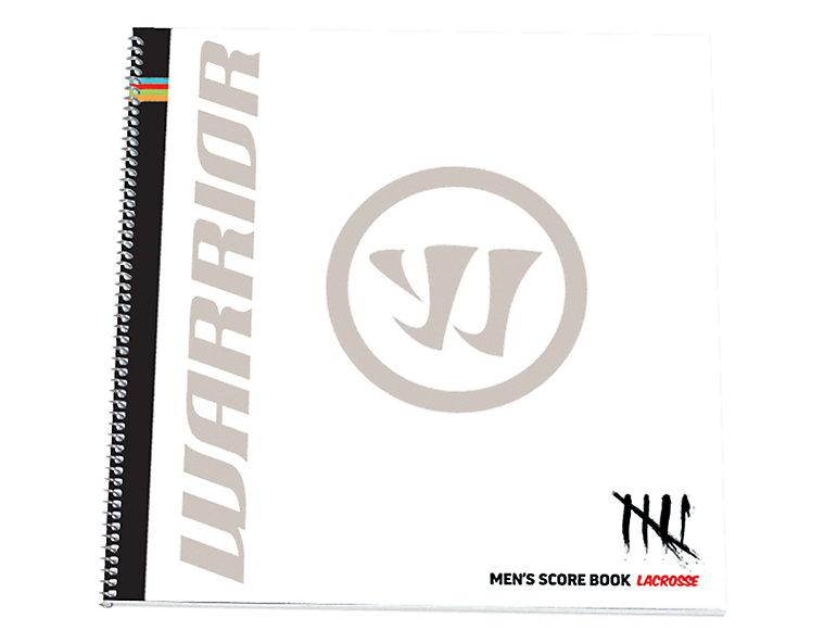 Men's Lacrosse Scorebook, Black image number 0