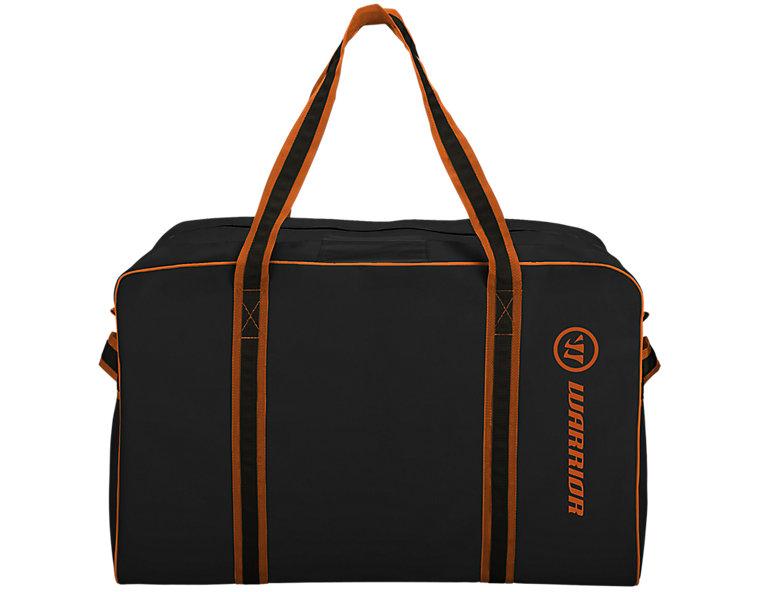 Warrior Pro Bag, Black with Orange image number 1