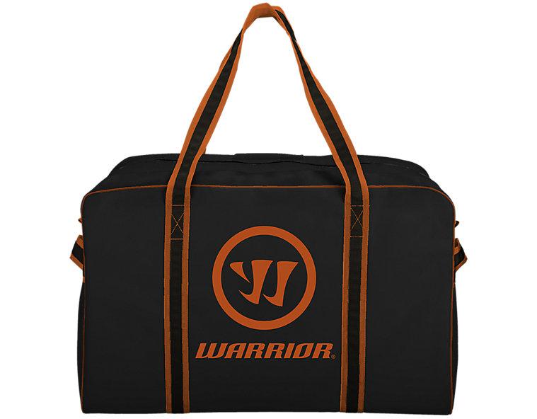 Warrior Pro Bag, Black with Orange image number 0