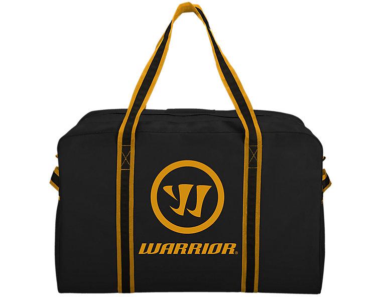 Warrior Pro Bag, Black with Sports Gold image number 0