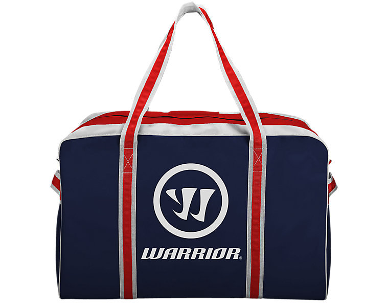 Warrior Pro Bag, Navy with Red & White image number 0