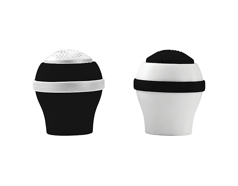 Women's 2 Pack Colored End Cap, Black image number 0