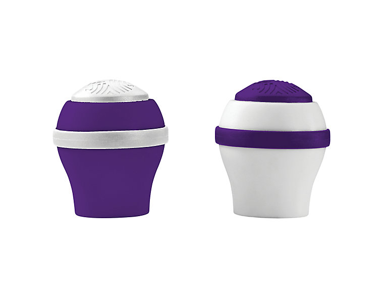 Women's 2 Pack Colored End Cap, Purple image number 0