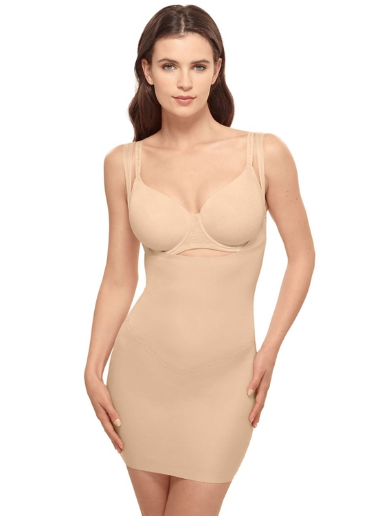 Inside Edit Open Bust Shaping Slip by Wacoal America