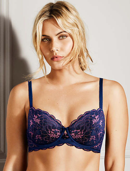 Fire and Lace Underwire Bra