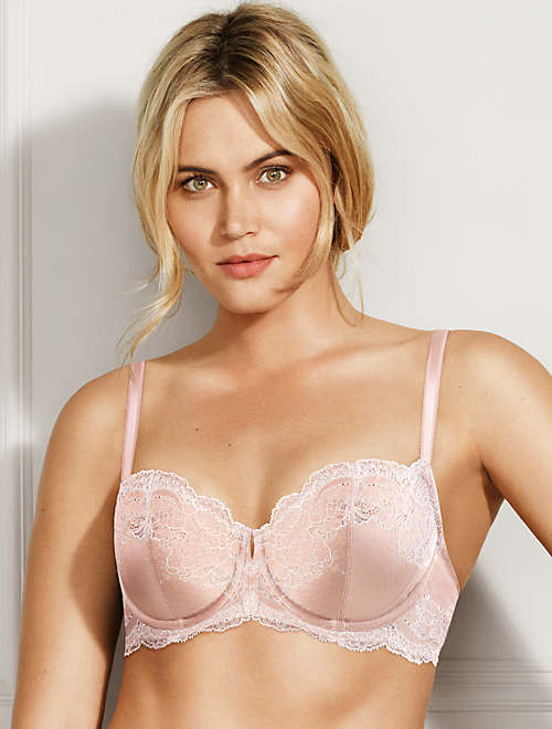 Lace Affair Underwire Bra - 34DDD - 851256