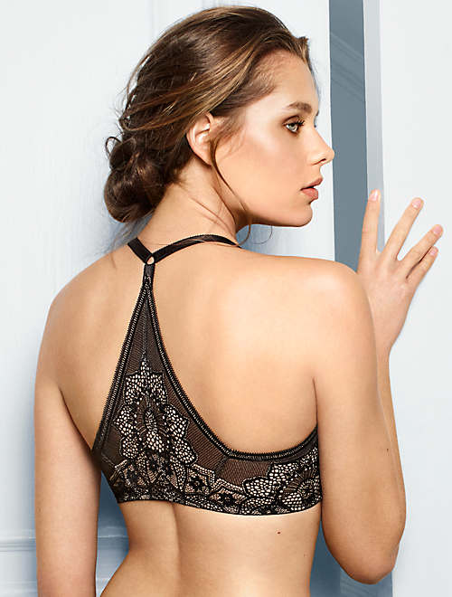 Take The Plunge Wire Free Racerback Bra