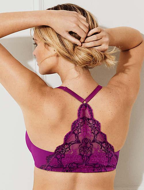 1727e0465b0 Lace Impression Racerback Underwire T-Shirt Bra