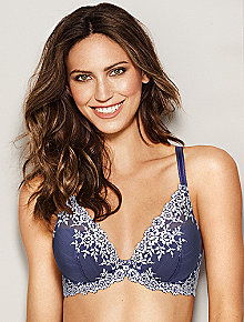 What is a plunge bra?