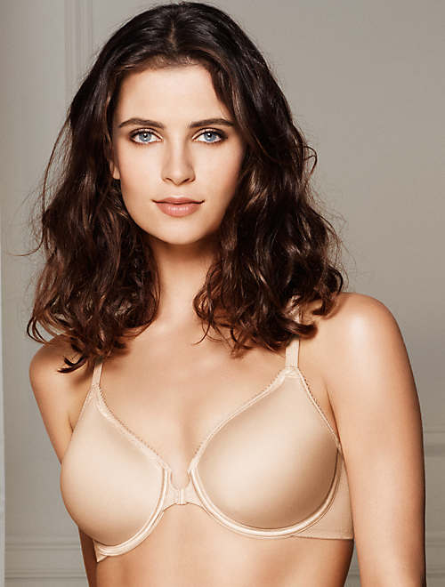 e3664954c6a28 Basic Beauty Front Close Underwire T-Shirt Bra | Wacoal