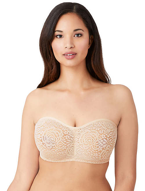 3389916b25 Halo Lace Strapless Underwire Bra