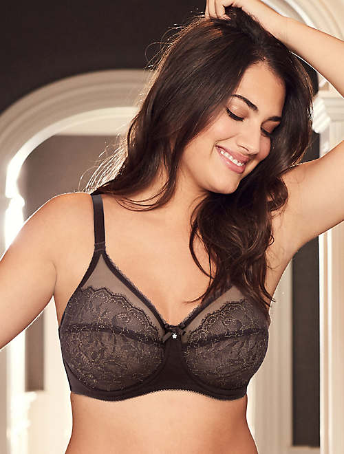 Retro Chic Full Figure Underwire Bra