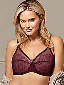 Retro Chic Full Figure Underwire Bra 855186