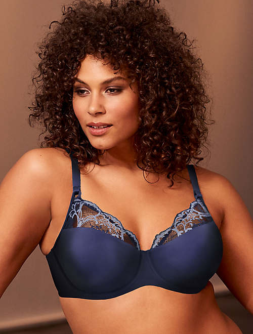 Lace Impression Seamless Underwire Bra
