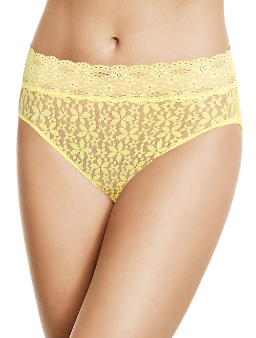 Halo Lace Hi-Cut Brief