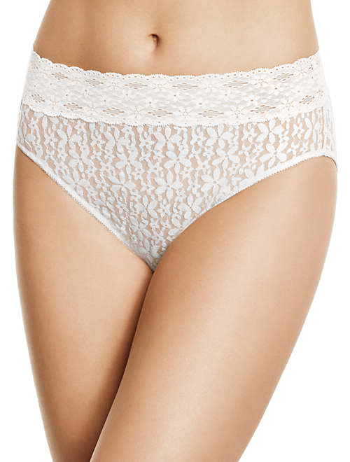 Halo Lace Hi-Cut Brief - New Markdowns - 870305