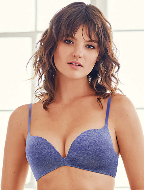 b.splendid Wire Free Push Up Bra