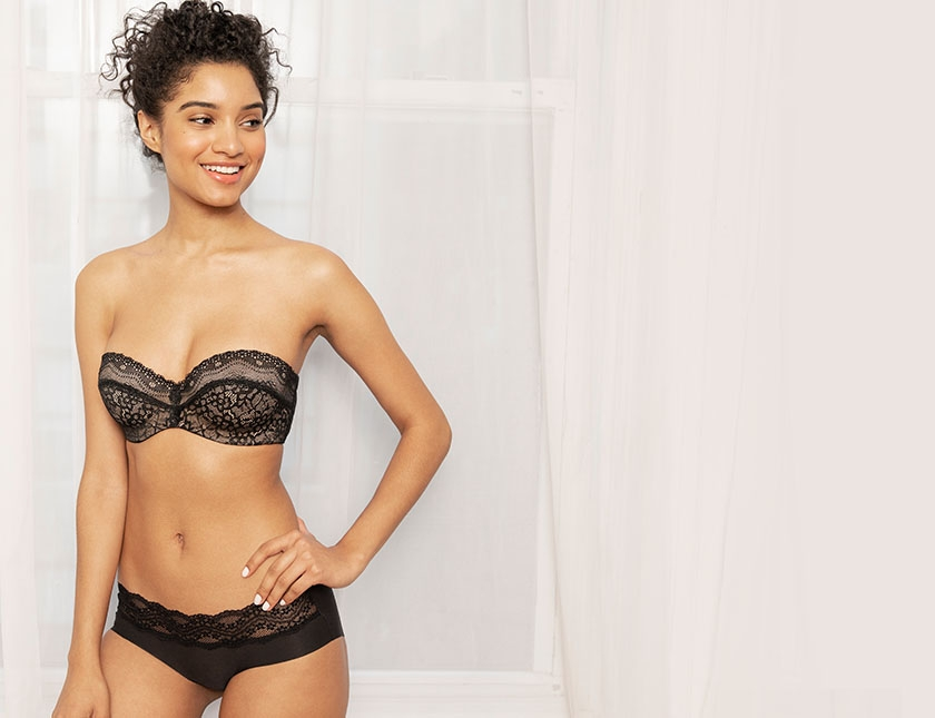 Supportive Strapless and Multiway Bras from b.tempt'd by Wacoal