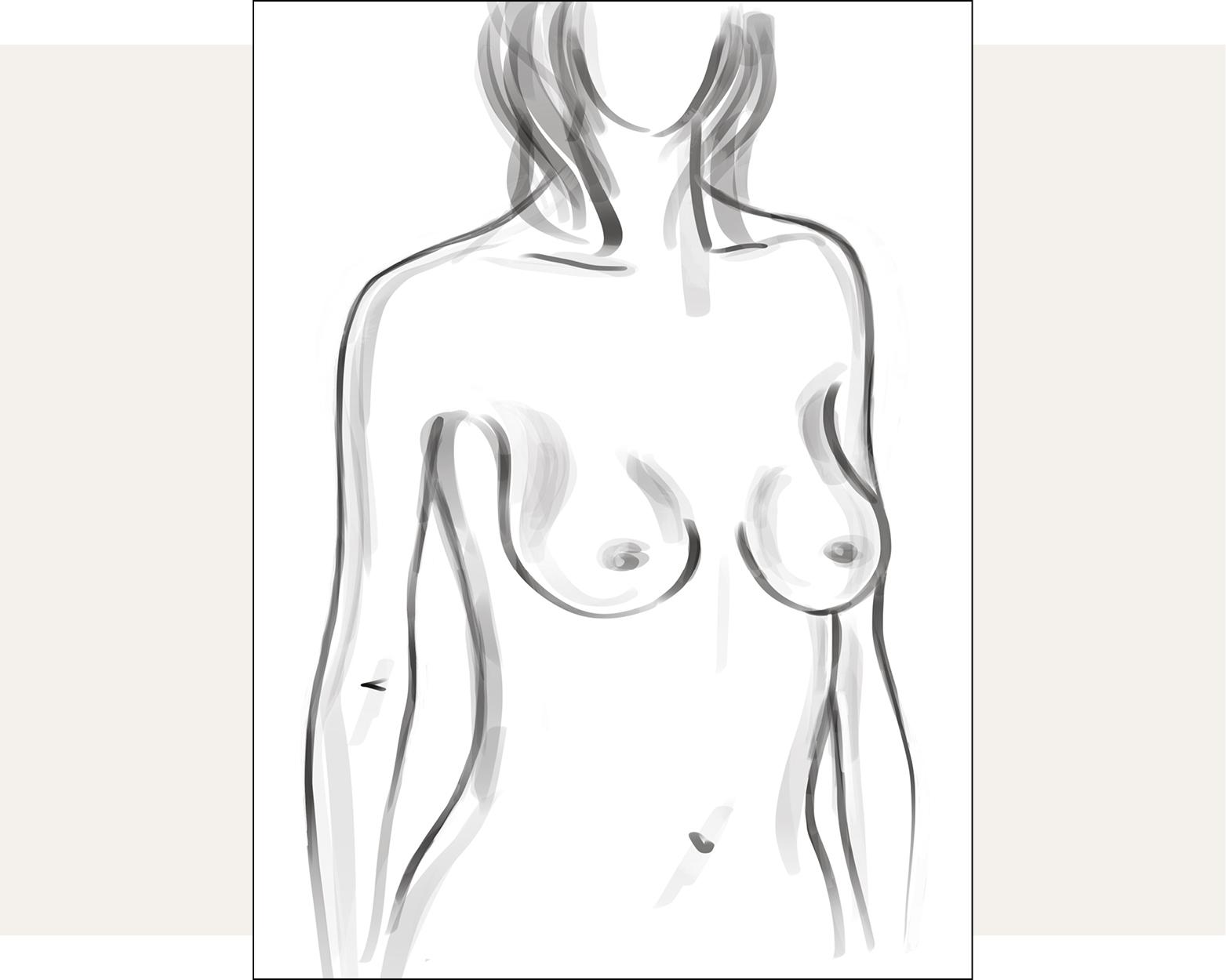 Shallow Shape Bra Chart