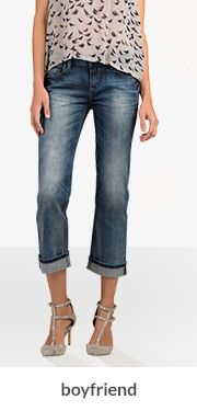 Women's Boyfriend Jeans