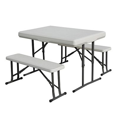fingerhut search results LG TV 2014 stansport folding c table with benches