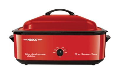 Nesco 18-Qt. Roaster Oven Candy Apple Red photo