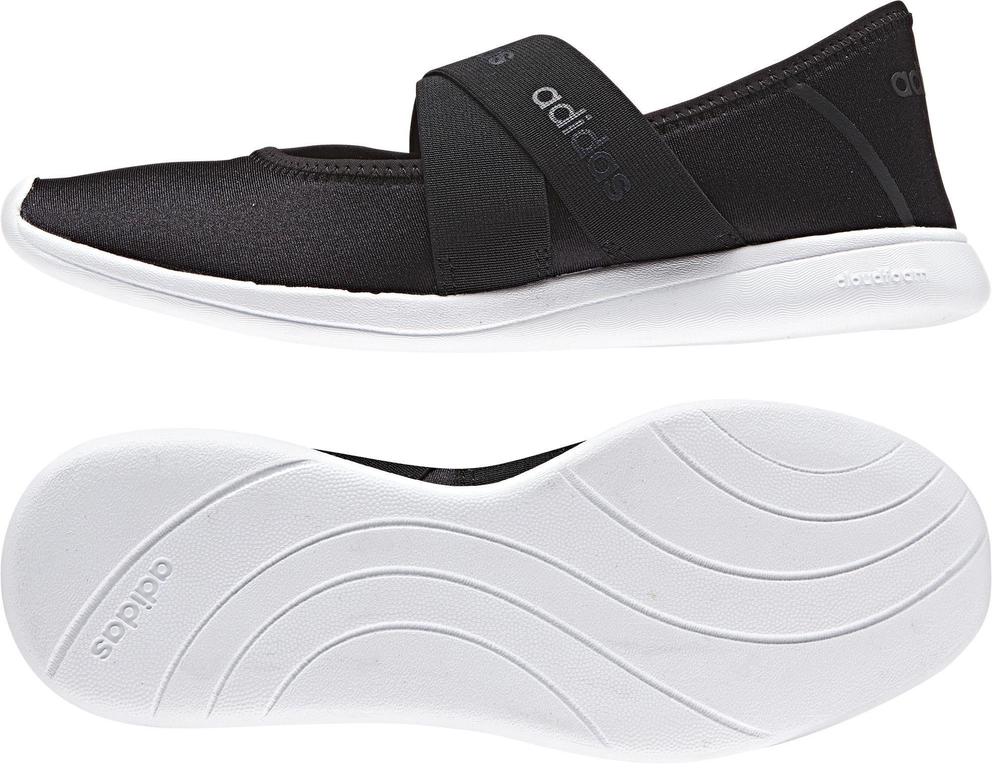 Fingerhut - adidas Neo Women's Cloudfoam Pure Mary Jane Shoes