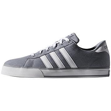 adidas neo Men's Daily Vulc Sport Shoe - Tech Gray/Running White/Running White