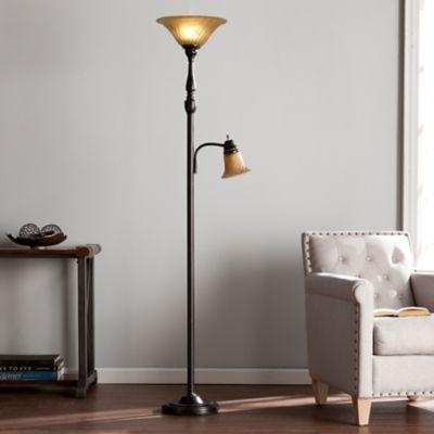 Southern enterprises frankie floor lamp