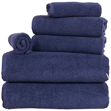 Fingerhut Portsmouth Home 100 Egyptian Cotton Zero Twist 6 Pc Towel Set