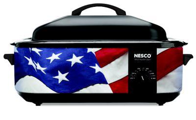 Nesco 18Qt Patriotic Roaster Oven photo