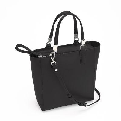 8f100693330bfa Royce Leather RFID-Blocking Mini-Tote Crossbody Bag - Black