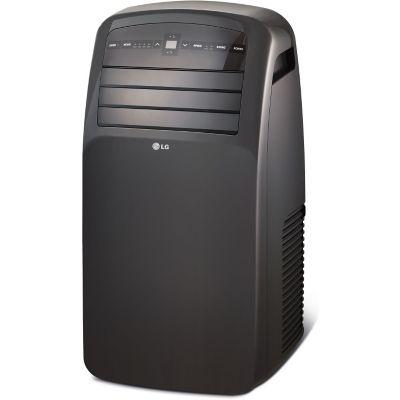 LG LP1215GXR 12000 BTU 115V Portable Air Conditioner with LCD Remote Control - Black photo