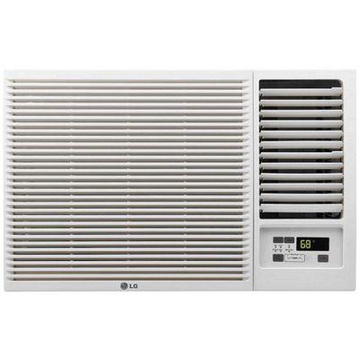 LG 7500 Btu Window Air Conditioner with Heat - White, LW8016HR White photo