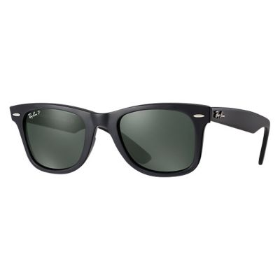 90e7e50a20056 Ray-Ban Unisex Wayfarer Classic Polarized Sunglasses - Black Crystal Green  · adidas Men s Kumacross 2.0 Polarized Sunglasses