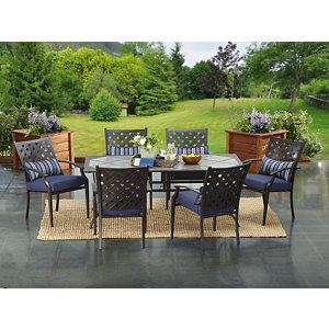 Alcove Willow Creek 7 Pc. Patio Dining Set