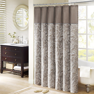 Madison Park Whiteman Shower Curtain