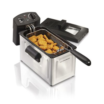 Hamilton Beach 12-Cup Oil Capacity Deep Fryer - 35033 photo