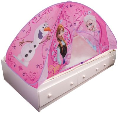 Disney Playhut 2-in-1 Frozen Bed Topper and Tent  sc 1 st  Fingerhut & Fingerhut - Disney Playhut 2-in-1 Disney Cars Bed Topper and Tent