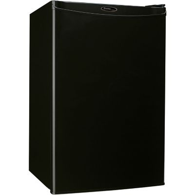 Danby Designer Energy Star 4.4 Cu. Ft. Counter-High All Refrigerator, Black photo