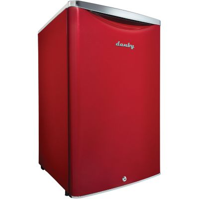 Danby 4.4 Cu. Ft. Contemporary Classic Compact Refrigerator, Scarlet Red photo