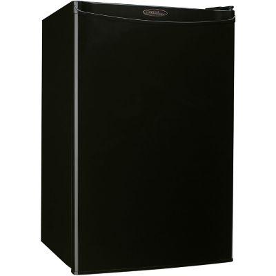 Danby Designer Energy Star 4.4 Cu. Ft. Compact Refrigerator/Freezer, Black photo