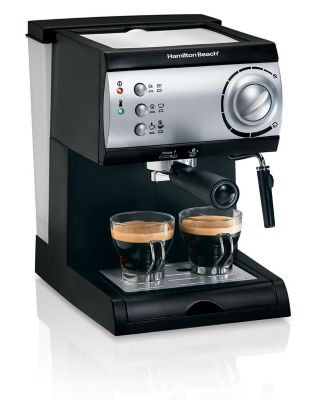 Hamilton Beach 1-Cup Espresso Maker - Black, 40715 photo