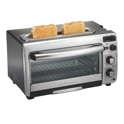 Hamilton Beach 2-in-1 Oven & Toaster - Black, 31156 photo