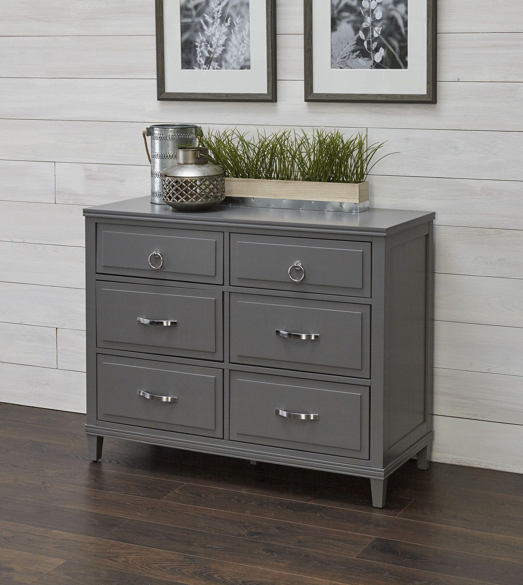 Fingerhut Mcleland Design Tate 6 Drawer Dresser