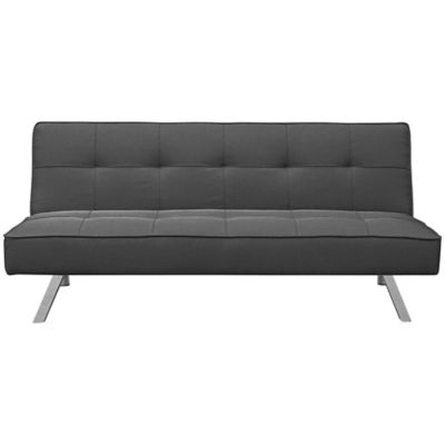 Fingerhut San Juan Click Clack Sofa With Cover Ash