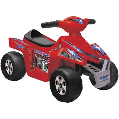 3f76558bea3 Kid Motorz 6V Superb Quad Ride-On - Red