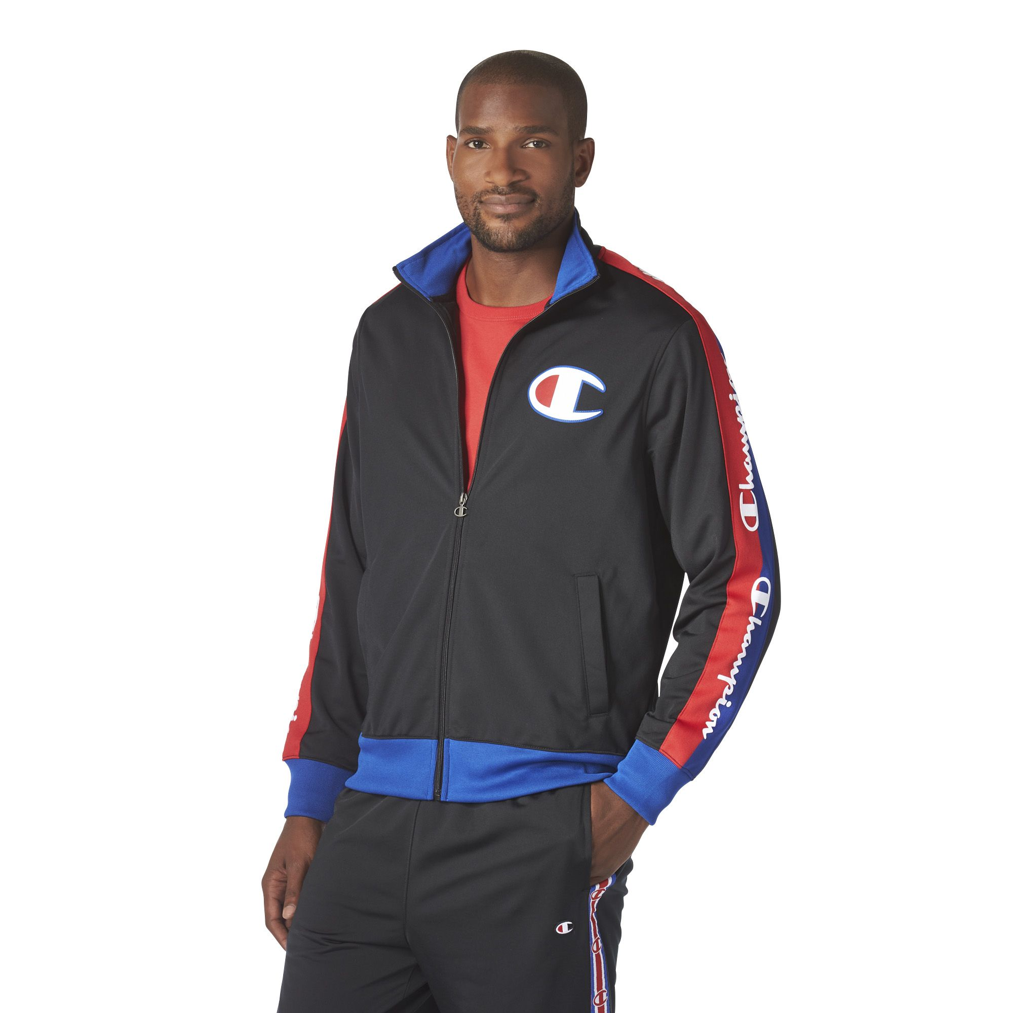 Champion LIFE Mens Tricot Track Jacket