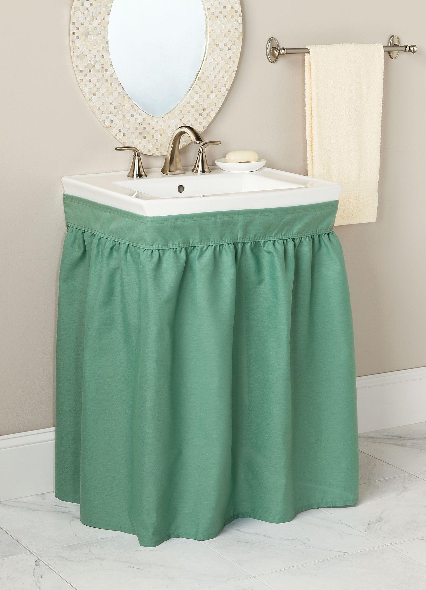 Fingerhut Mayfield Sink Skirt